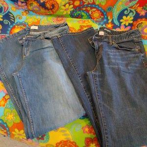 Jean bundle, size 15